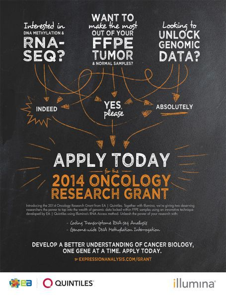 2014 Oncology Research Grant.