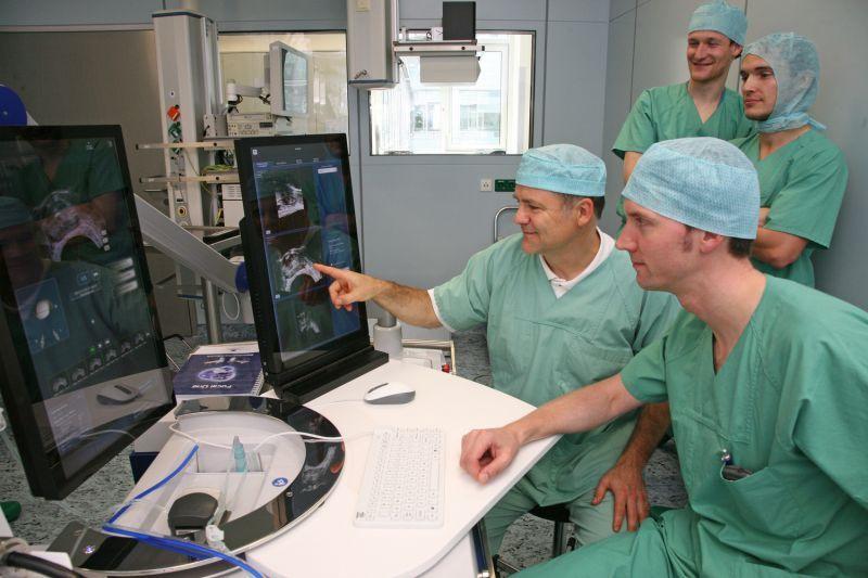 mit da vinci roboter operiert worden