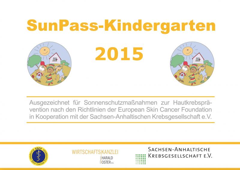 """Sonnenschutz-Kindergarten """"Friedrich Fröbel"""" in Sangerhausen erhält ..."""